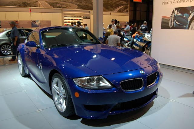 bmw z4 m coupe front view