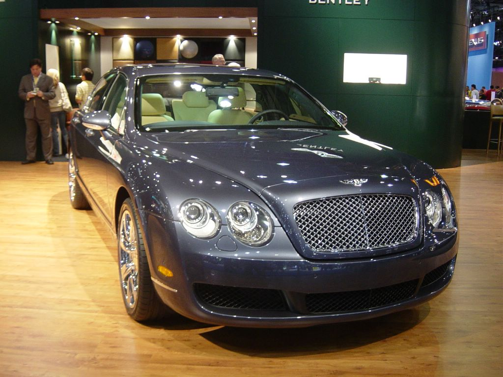 bentley continental front view 2007 bentley car. Black Bedroom Furniture Sets. Home Design Ideas