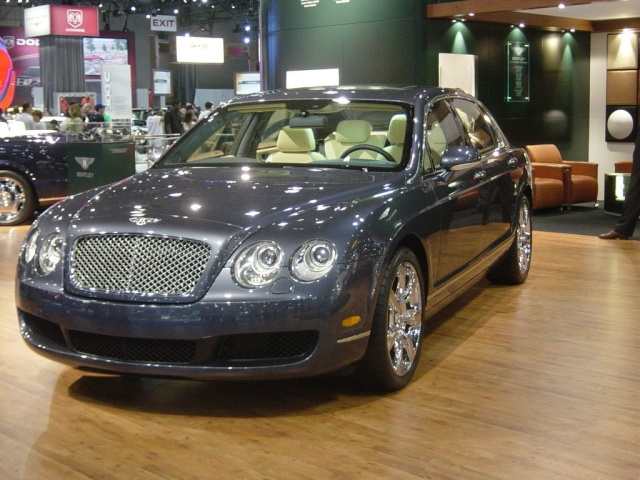bentley front view