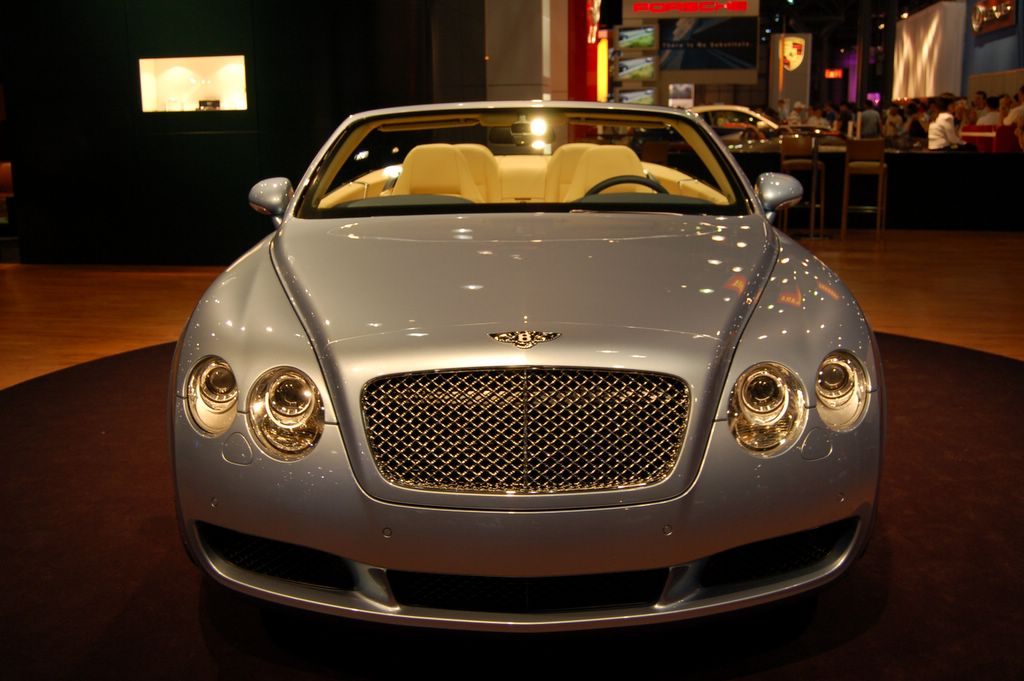 silver bentley convertible front view 2007 bentley car. Black Bedroom Furniture Sets. Home Design Ideas