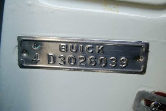 1957 buick special decal