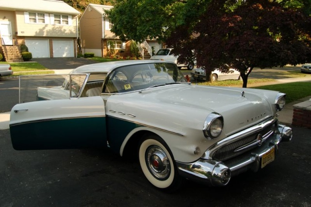 1957 buick special front left