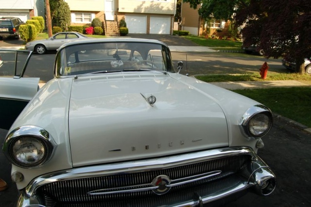 1957 buick special front top
