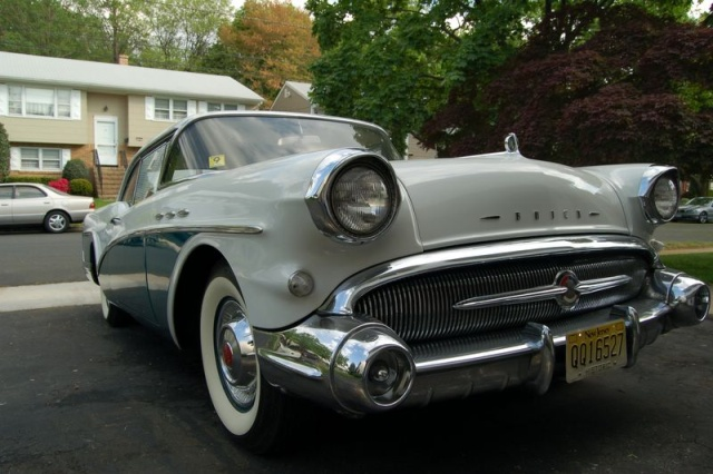 1957 buick special left front