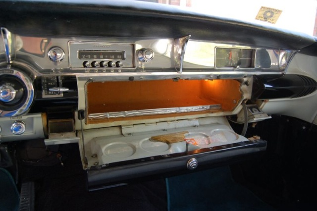 1957 buick special glovebox