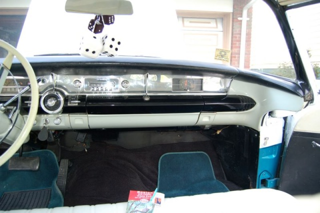 1957 buick special inside