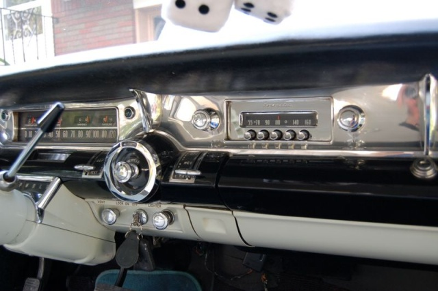 1957 buick special inside console