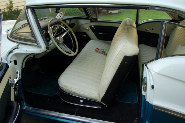1957 buick special side door open
