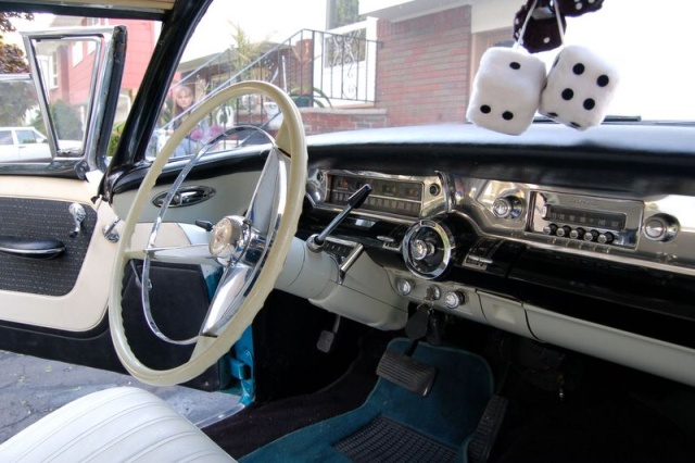 1957 buick special sterring wheel1