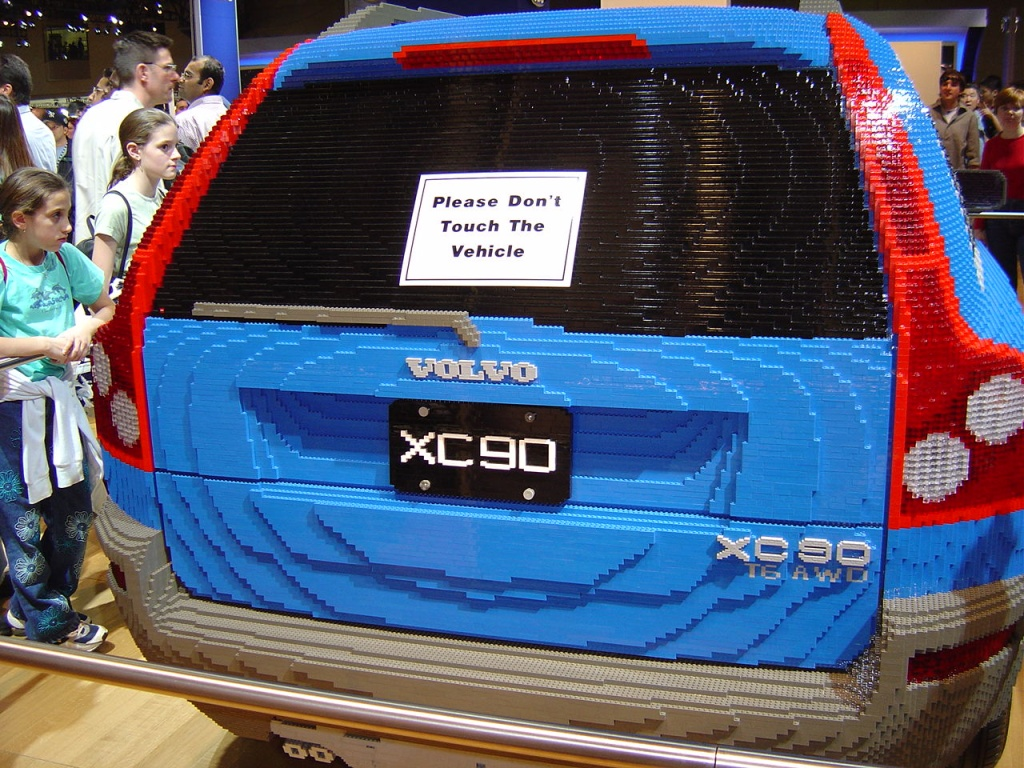 Car Built from Legos