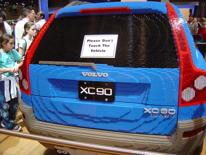 Car Built from Legos