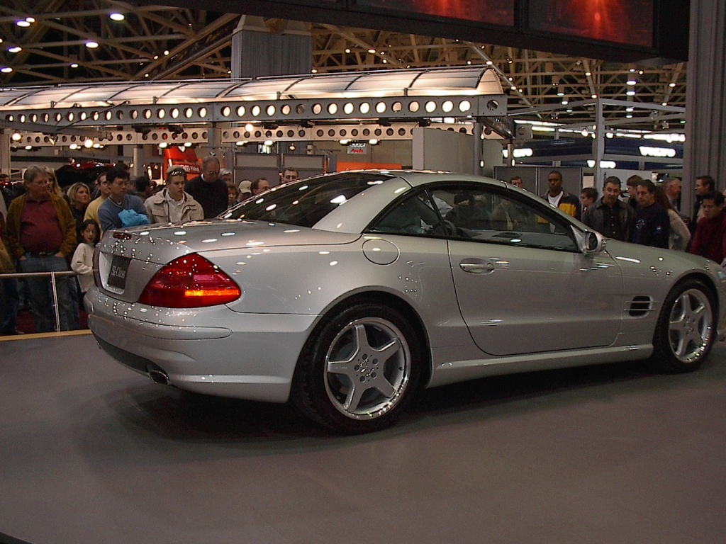 Silver mercedes coupe dallas car show 2002 car - Mercedes car show ...