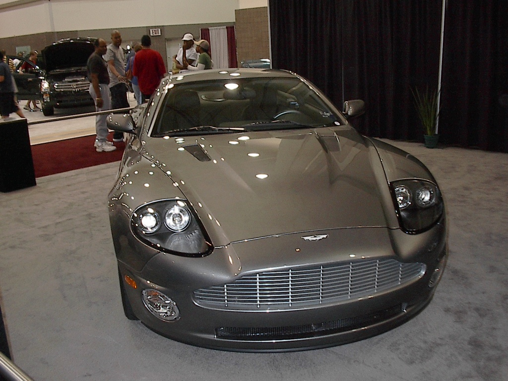 antique aston martin
