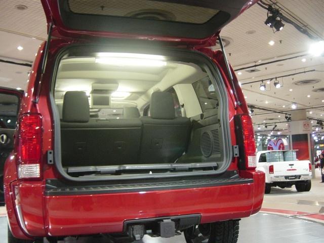 dodge nitro interior view