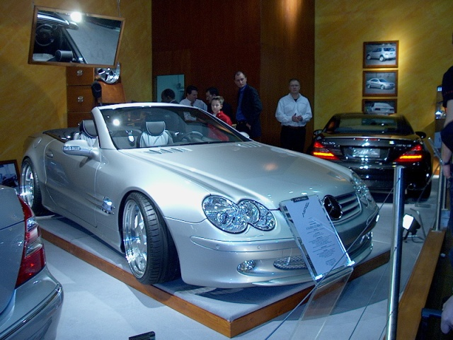 Mae Mercedes Benz Sl 500 Essen Car Show 2002 Car