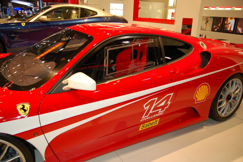 ferrari f430 challenge racing car