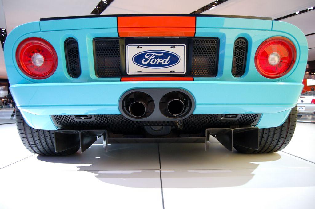 back lights ford gt