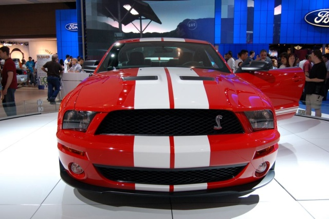 ford shelby front view