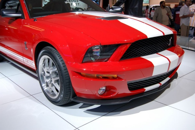 ford shelby gt front view