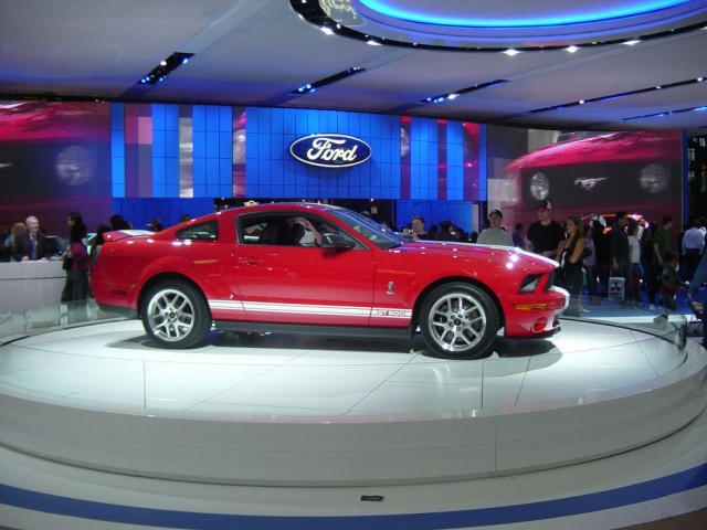 red ford shelby