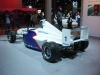 bmw formula racing car rear view