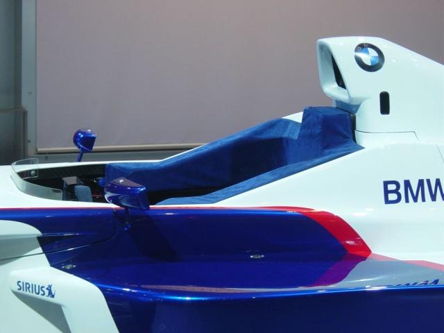 bmw race car side view