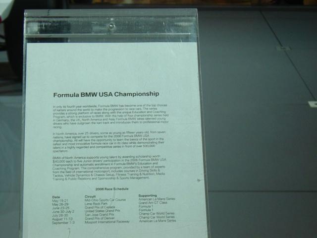 formula bmw information