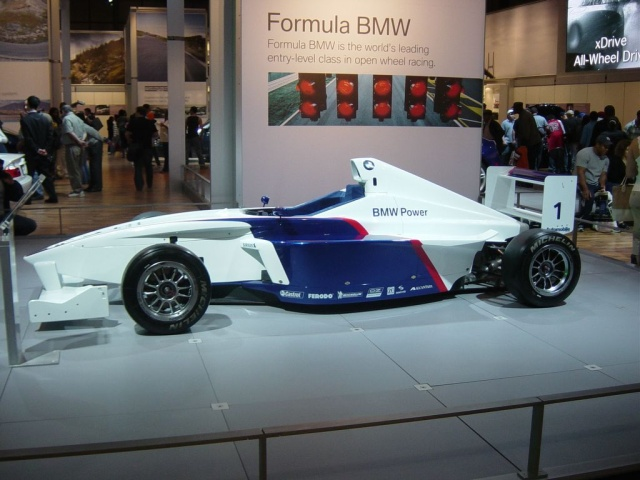 formula bmw racing car