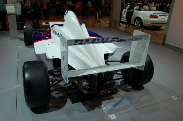 formula bmw rear view