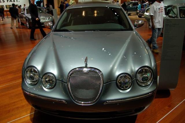jaguar front view