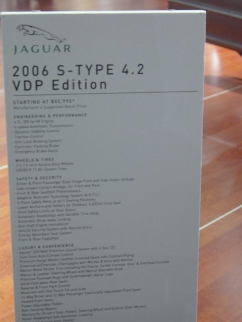 jaguar s type 4 2 information