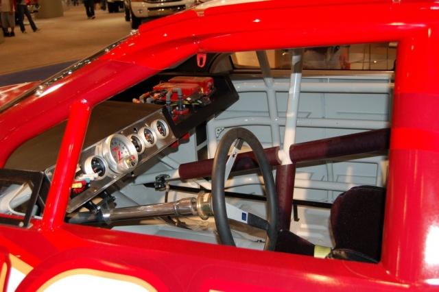 camry race car interior