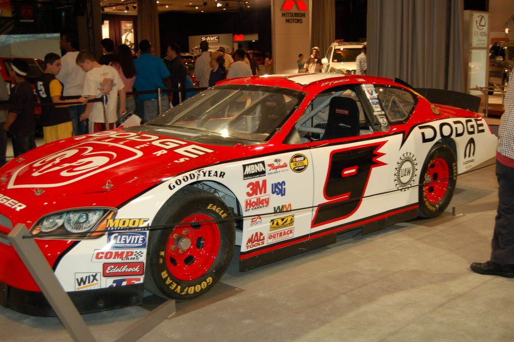 Nacasr dodge charger on nascar cars
