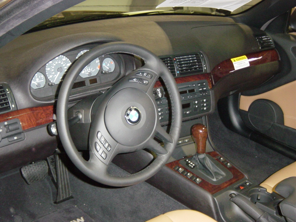 Bmw 325ci Interior View Nj Auto Expo 2005 Car Pictures By Carjunky