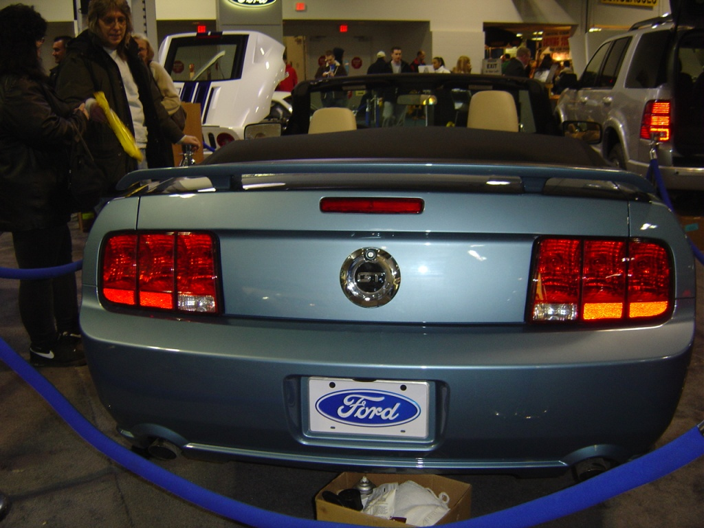 ford mustang rear view : NJ