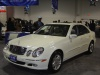 white-mercedes-e320-front- view