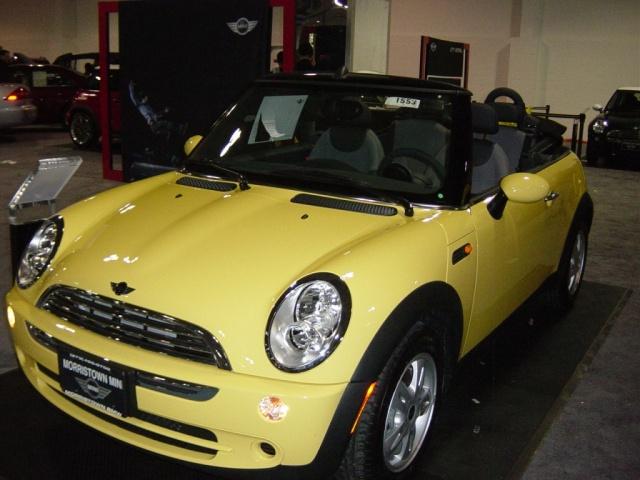 yellow-mini-cooper-convertible
