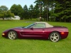 burgandy-corvette-convertible
