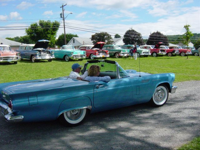 classic-blue-convertible-thunderbird