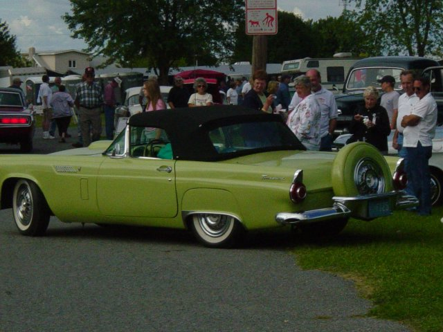 lime-green-1954-thunderbird-convertible