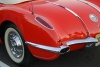 1958-Corvette-Convertible-rear-brake-lights