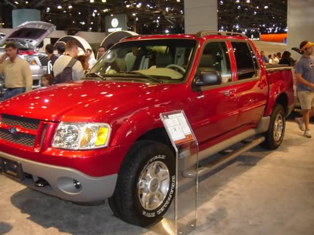 red-ford-pick-up-truck