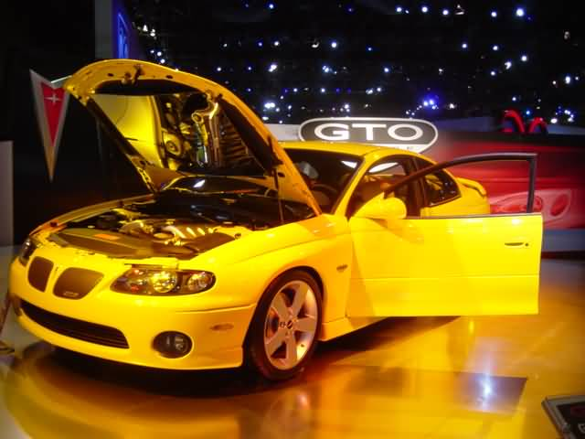yellow pontiac gto : New York Auto Show 2003 : Car Pictures by ...