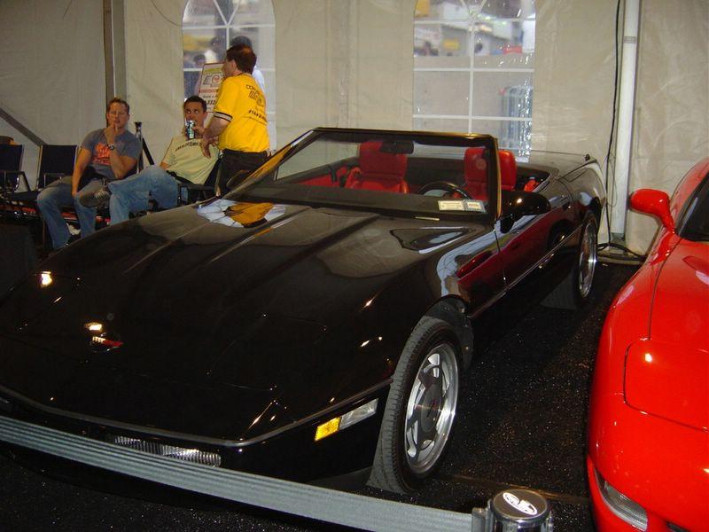 black-convertible-corvette