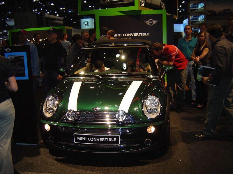 green-mini-cooper-convertible