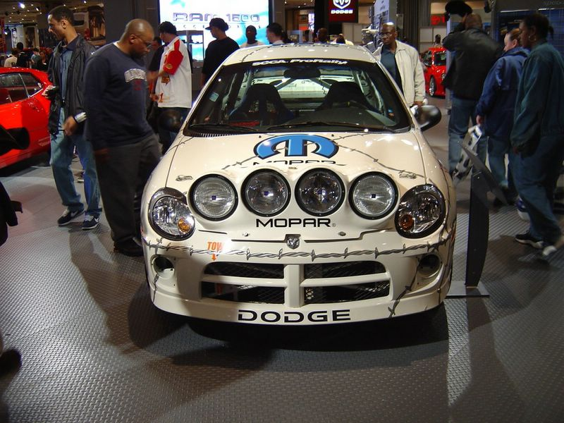 white-dodge-sponsor-car