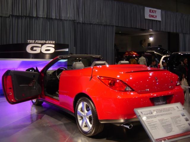 2006 pontiac g 6 hardtop convertible