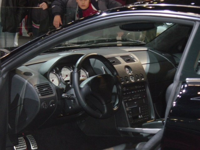 aston martin vanquish interior view