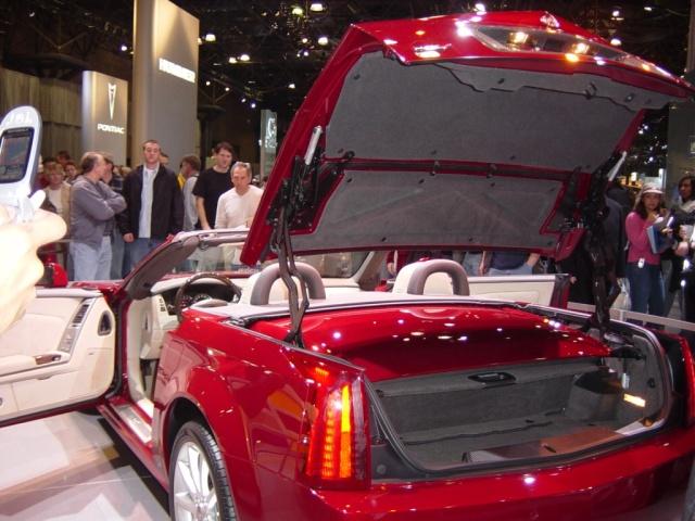cadillac xlr rear view
