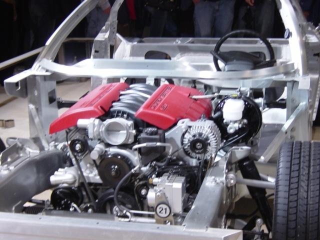 cheverolet corvette engine
